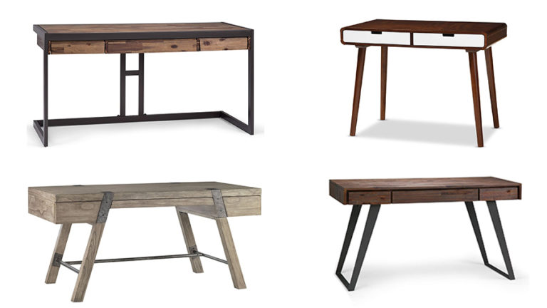 wooden gaming desks