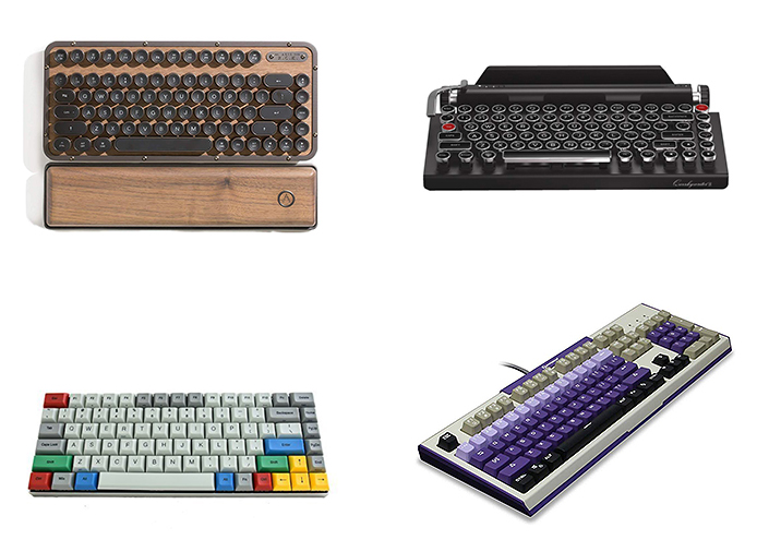 retro gaming pc keyboards