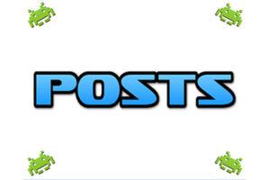 retro posts