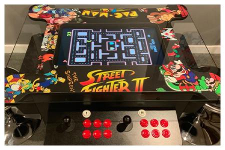 cocktail arcade machines