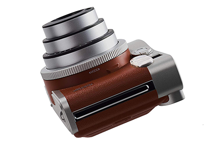 Fujifilm instax Mini 90 side retro polaroid camera