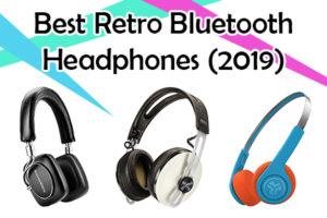 retro bluetooth headphones