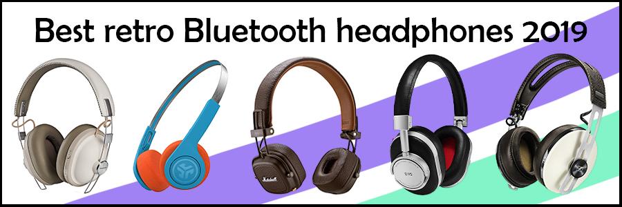 best retro bluetooth headphones