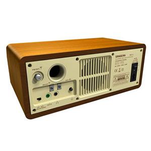 Sangean WR-12BT retro speakers