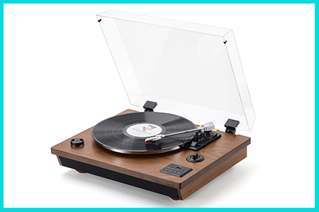 retro record players and turntable