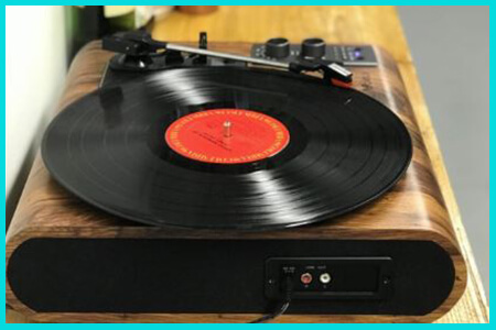 voksun retro turntable