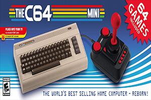 old school video games list c64 Mini