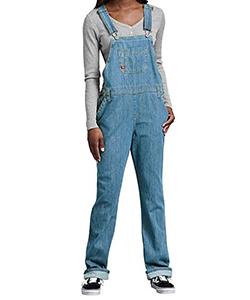 Retro clothing for women the 1990's denim overalls