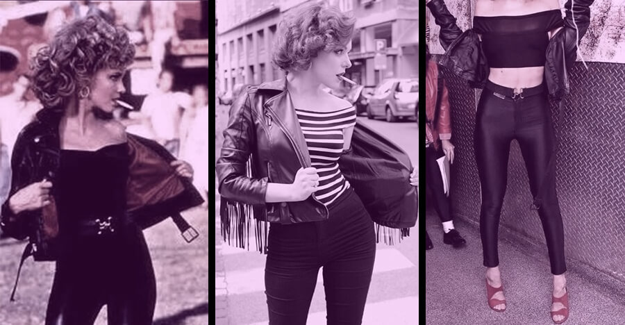 retro clothing for women greaser style