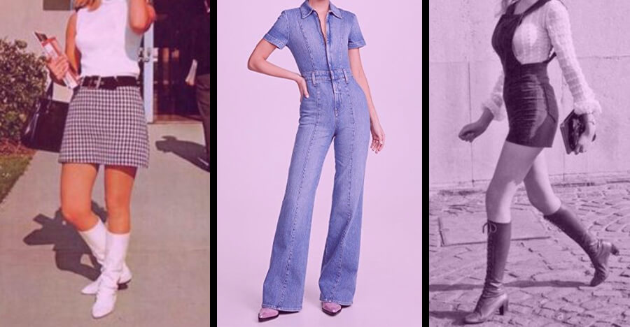 Retro clothing for women the 1970's jumpsuit trend
