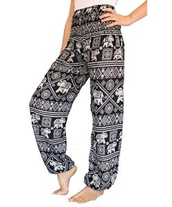 loose fit hippie pants