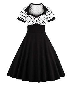 1980's Rockabilly style dress