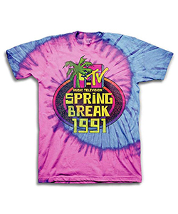 1990's MTV generation spring break t shirt