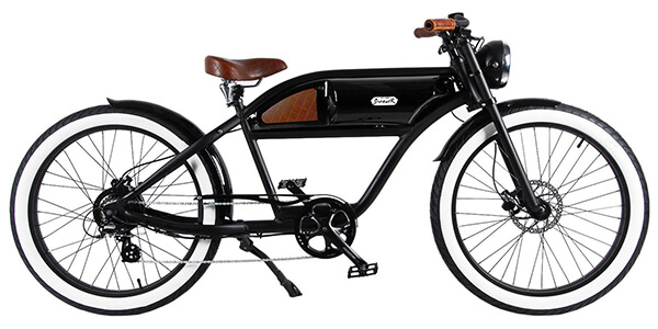 retro style electric bikes MICHAEL BLAST T4B GREASER