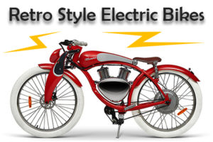 retro style electric bikes