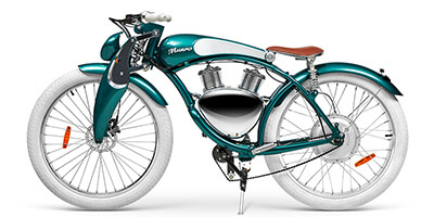 munro 2.0 green e-bike