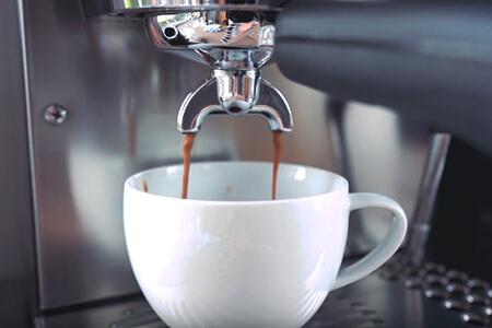 fresh espresso coffee