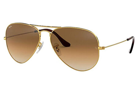 Retro sunglasses for men ray-ban classic aviator