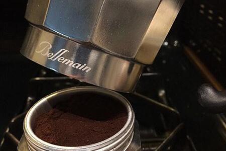 fresh espresso grind