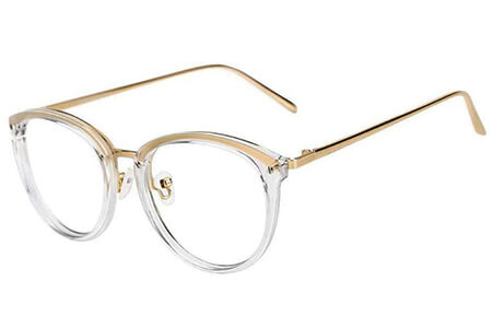 Retro non prescription glasses