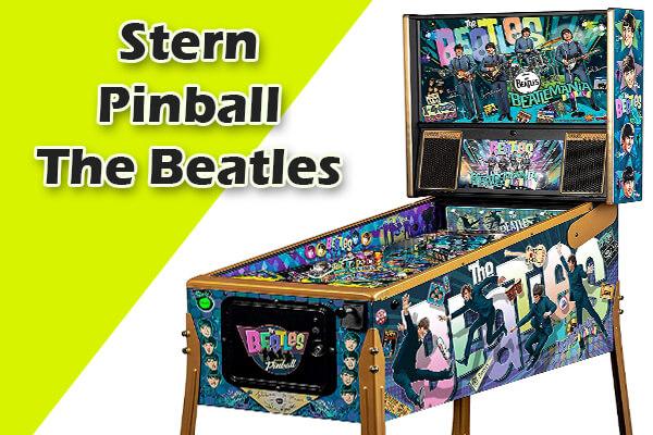 The Beatles retro pinball machines