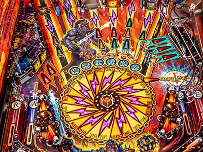 Black Knight stern Pinball arcade