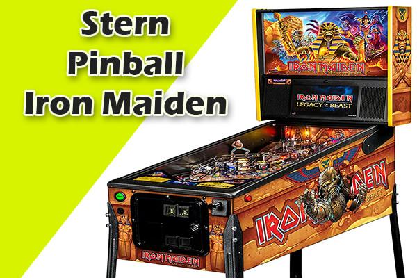 Iron maiden retro pinball machines