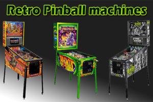 retro pinball machines