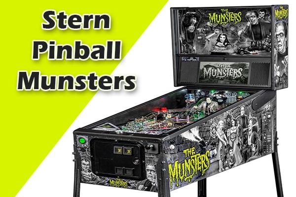 the munsters retro pinball machines