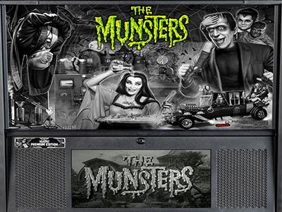 The Munsters stern Pinball machine