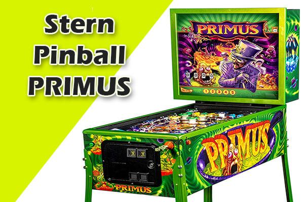 PRIMUS retro pinball machines