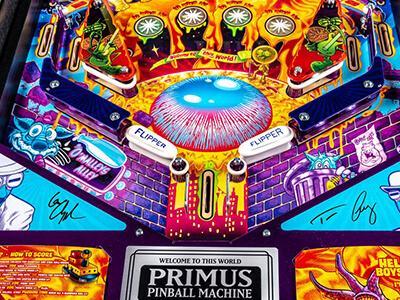 PRIMUS stern Pinball machine