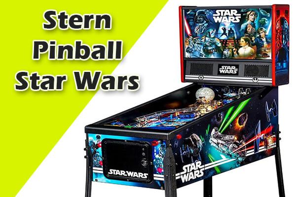 Star Wars retro pinball machines