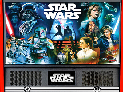 Star Wars stern nostalgic Pinball arcade