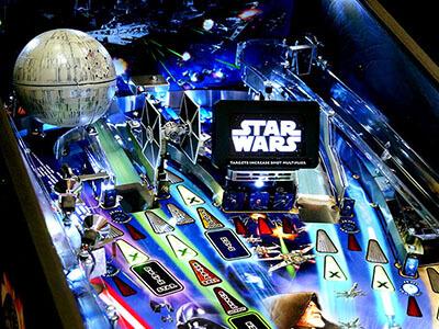 Star Wars stern Pinball arcade