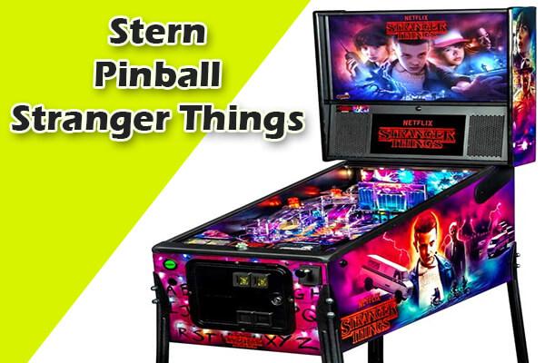 Stranger Things retro pinball machines
