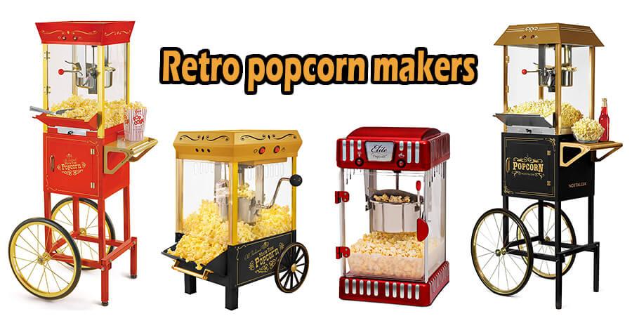 retro popcorn makers