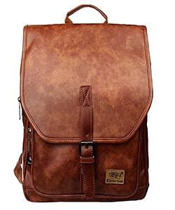 Zebella vintage Leather Backpack