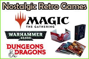 nostalgic retro games